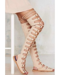 1b062925169f Women s Knee High Gladiator Sandals by Jeffrey Campbell