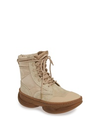 61b16b6bf1fa Women s Lace-up Flat Boots by Alexander Wang