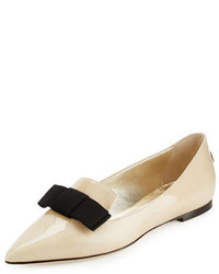 Jimmy Choo Gala Patent Bow Loafer
