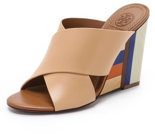 Tory Burch Color Cube Mules Where To Buy How To Wear - Colores-que-combinan-con-beige