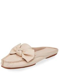 New york mallory bow flat mule loafer blush medium 3650760