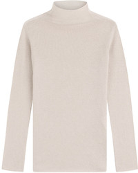 Cashmere funnel neck pullover medium 528467