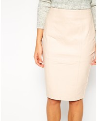 Asos Collection Leather Pencil Skirt | Where to buy & how to wear