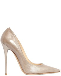 Jimmy Choo 120mm Anouk Glittered Leather Pumps