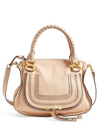 Chloe medium marcie leather satchel medium 127270