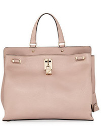 Valentino Garavani Joylock Medium Leather Satchel Bag