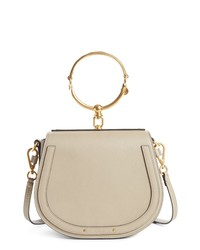 Chloé Medium Nile Leather Bracelet Saddle Bag
