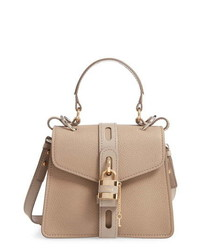 Chloé Small Aby Leather Convertible Bag