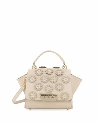 Zac Posen Zac Eartha Iconic Small Leather Crossbody Bag