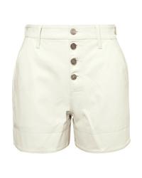 RtA Dash Leather Shorts