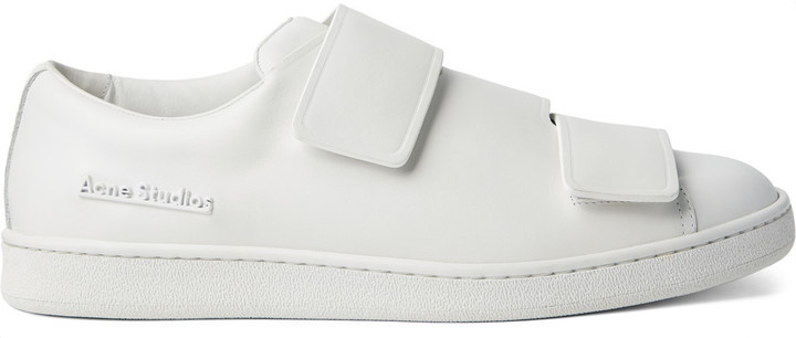 Acne Studios Triple Lo Leather Sneakers