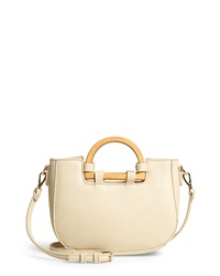 Sole Society Ardel Wooden Faux Leather Bag
