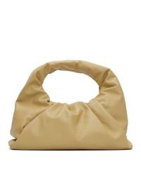 Bottega Veneta Beige Small Shoulder Pouch Bag
