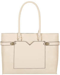 Dorothy Perkins Cream Twistlock Tote Bag