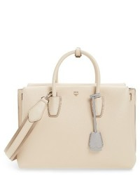 Large milla leather tote beige medium 3996228