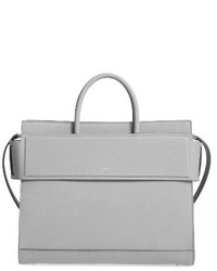 Medium horizon grained calfskin leather tote medium 3692119