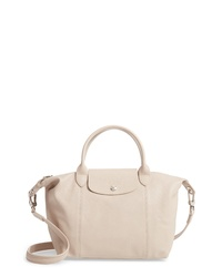 Longchamp Small Le Pliage Cuir Leather Tote
