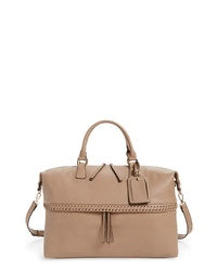 Sole Society Vulin Stitch Faux Leather Travel Tote