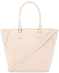 Forever 21 Zip Side Faux Leather Tote