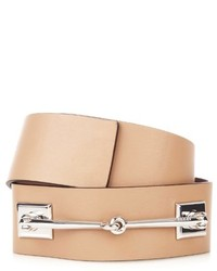 Horsebit leather waist belt medium 278289