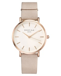 ROSEFIELD Holiday Leather Watch Bracelet Gift Set