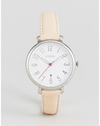 Fossil Leather Jacqueline Watch