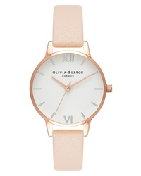 Olivia Burton Midi Dial Leather Watch