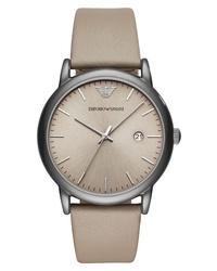Emporio Armani Round Watch