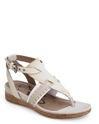Celestial v strap wedge sandal medium 3682098