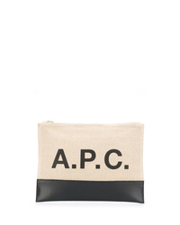 A.P.C. Panelled Clutch