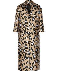 ADAM by Adam Lippes Adam Lippes Leopard Jacquard Coat