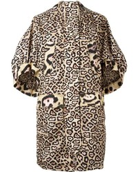 Oversize leopard print coat medium 3650123