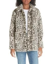 Faux lynx fur coat medium 8652682