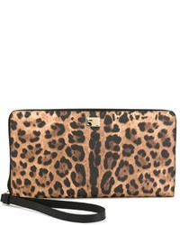 Leopard print clutch medium 321441
