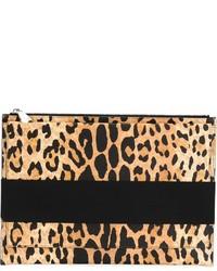 Leopard print clutch medium 321454