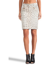 Current/Elliott The Soho Zip Pencil Skirt