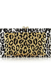 Leopard pandora perspex clutch medium 318277