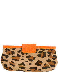 Pony hair clutch medium 254994