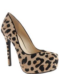Jessica Simpson Rebeca3 Natural Leopard High Heels
