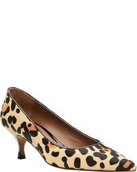 Donald J Pliner Rome L4 Blacknatural Leopard Haircalf Casual Shoes
