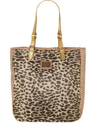 Dorothy Perkins Leopard Buckle Shopper