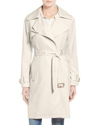 Flowy belted trench coat medium 3665514