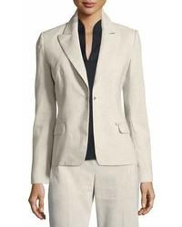Ava fitted one button blazer medium 6992227
