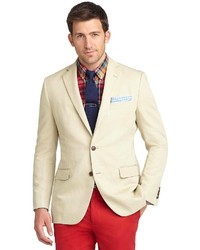 Brooks brothers fitzgerald fit cotton linen sport coat medium 223803