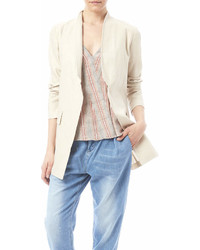 Katherine Barclay Metallic Linen Jacket