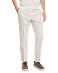Ermenegildo Zegna Chino Flat Front Pants