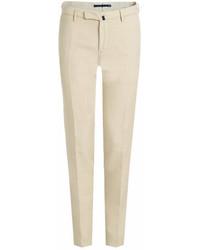 Incotex Chinolino Linen And Cotton Chinos