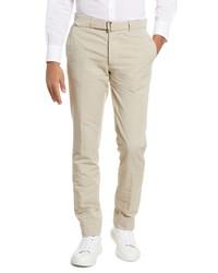 Officine Generale Slub Cotton Linen Pants
