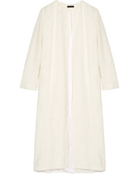 Pamie linen blend boucl coat ivory medium 3665990