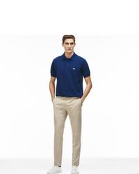 Lacoste Bicolor Cotton Linen Blend Suit Pants